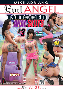 Tattooed Anal Sluts 3 cover