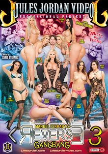 Manuel Ferrara's Reverse Gangbang 3 cover
