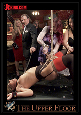 The Upper Floor: Two Slutty Slaves Service Cock