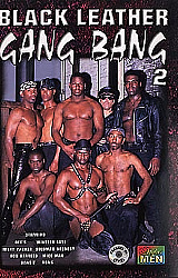 Black Leather Gang Bang 2