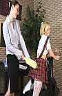 Spanking Schoolgirl