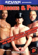 Daddies and Pigs is all about hardcore nasty sex without apologies. This hot new video from director Wolfgang Bang focuses on fisting and buttplay with some light S&M thrown in for good measure. It starts out with bad cop Brad Wilder grabbing innocent Fred Harry and takes him home to his dungeon where he puts him through the wringer. Fred Harry protests at first but his raging hard-on when tied to a bondage-table with Wilder working him over with floggers and hot wax reveals that it feels too good not to enjoy it. Brad works him over with some cock and ball electro-torment as well before he decides he is done. Ruben D'Angelo, Adam Faust, Rex Armswell, Fred Harry, Brad Wilder, Craig Stowe, Shawn Islander, John Steele, Bruce Santon, Lyle James, Ted Lin