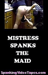Mistress Spanks The Maid