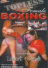 Topless Female Boxing