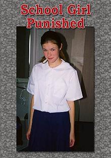 School Girl Punished
