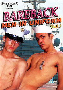 Bareback Men In Uniform