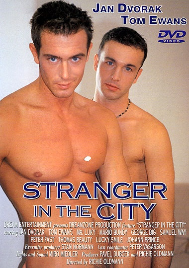 Stranger in the City Cover Front