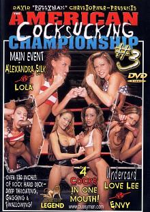 Pussyman's American Cocksucking Championship 3