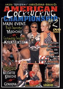 Pussyman's The American Cocksucking Championship 2