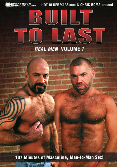 Real Men 7 Built to Last Cover Front
