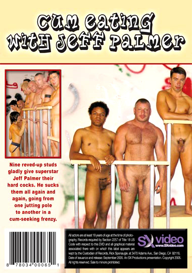 Cum Eating With Jeff Palmer Cover Back
