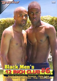 Black Men's 12 Inch Club 6