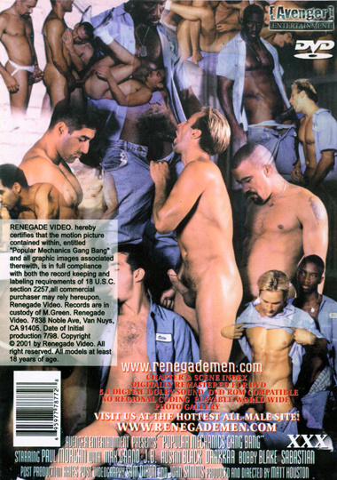 Popular Mechanics Gang Bang Cover Back