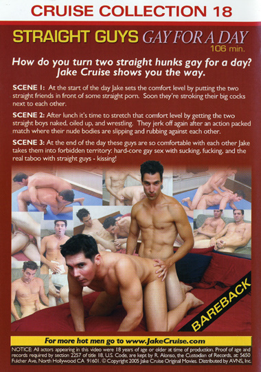 Cruise Collection 018 Straight Guys Gay for a Day Cena 3 Cover 2