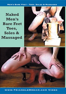Men's Bare Feet - Toes And Soles Massaged