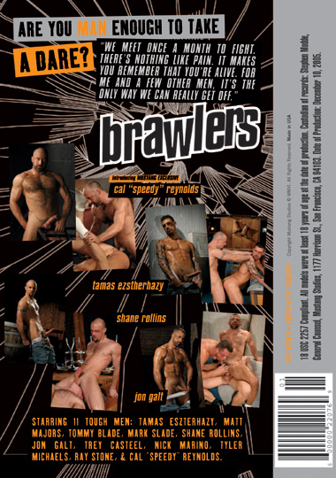 Brawlers (Mustang) Cover Back