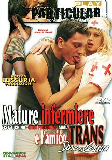 Mature Infermiere E L'amico Trans