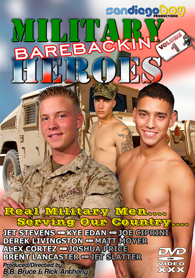 Active Duty Barebackin' Heroes cover