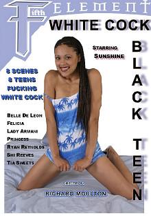 White Cock Black Teen
