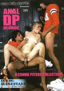 Porno Superstars Of The 70's: Anal DP Blonde A Connie Peters Collection