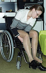 Adult Movies presents Jennifer Wheelchair Video