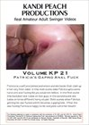 Kandi Peach Productions 21: Patricia's Gaping Anal Fuck