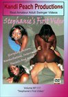 Kandi Peach Productions 117: Stephanie's First Video