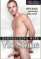 Vic Stone brings his famous big-shooter cock back to the screen. Four men take every inch of it and beg for more. It is cock sucking and bareback fucking like you've never seen.