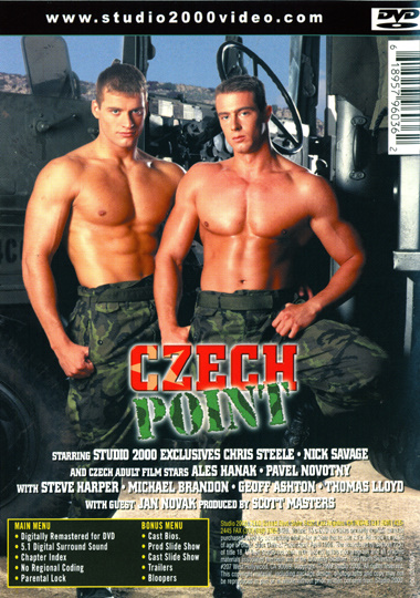 Czech Point Cover Back