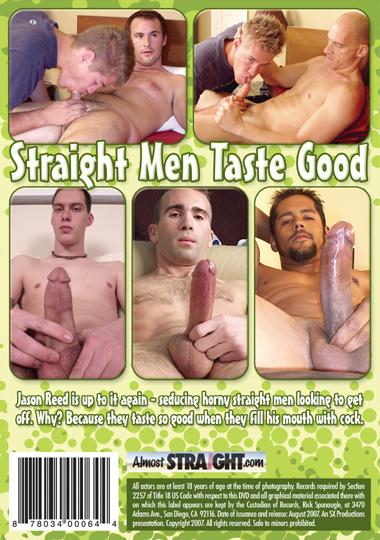 Straight Men Taste Good Cover Back