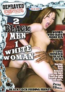 2 Black Men 1 White Woman