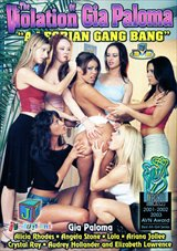 The Violation Of Gia Paloma: A Lesbian Gang Bang