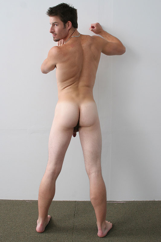 blond gay thong