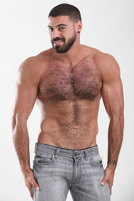 Gay leather chest