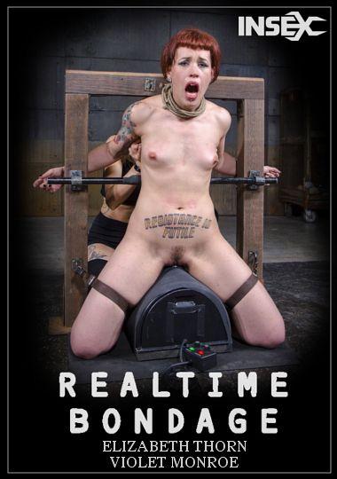 Realtime Bondage: Elizabeth Thorn And Violet Monroe