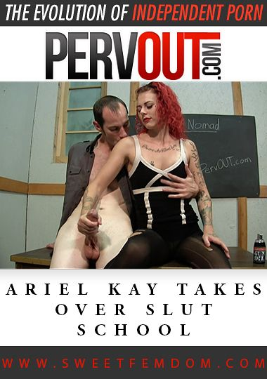 Ariel Kay Takes Over Slut School