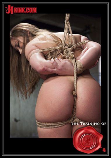 The Training Of O: Cane Training Dani Daniels, Day Three
