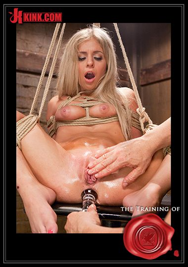 The Training Of O: Hot Blondes Must Earn Their Orgasms