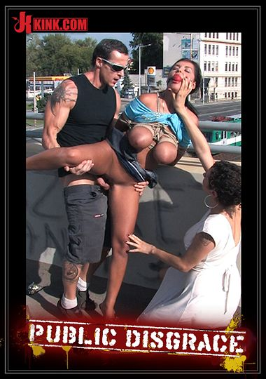 Public Disgrace: Best Of Europe: Big Natural Tits Tied In Pu