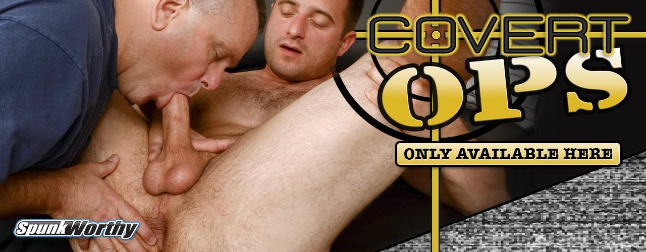 SpunkWorthy video is back with a new set of military men, watch has he drains them into ectasy.