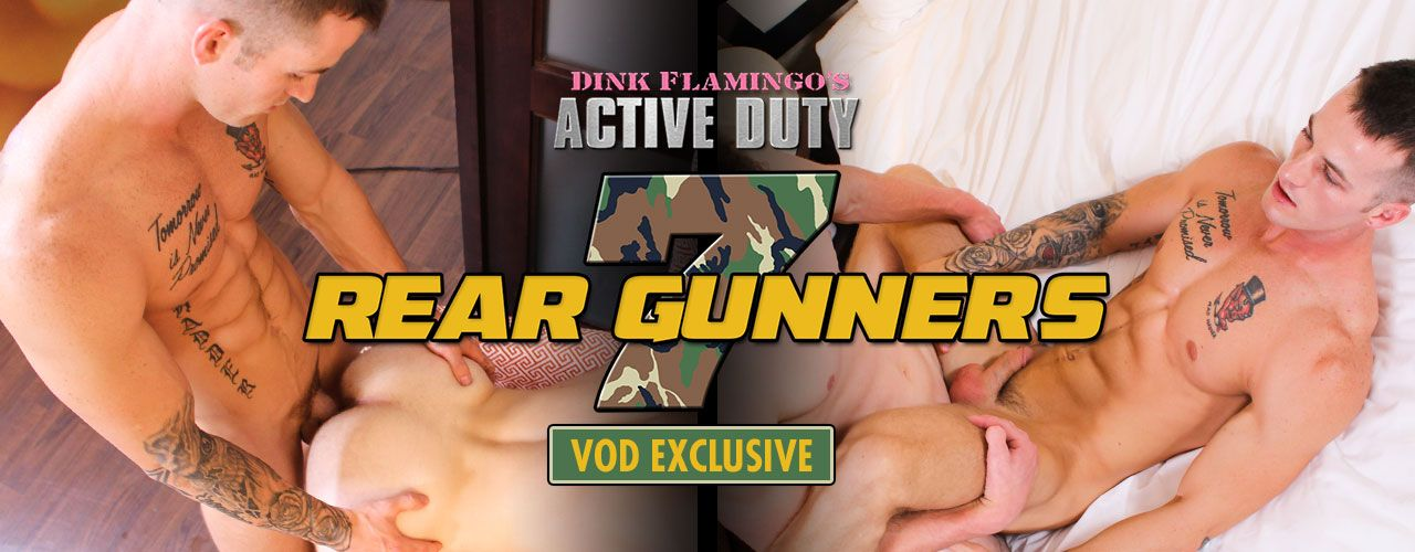 Active Duty is proud to present Rear Gunners 7! Hot VOD exclusive with 6 hot studs! Watch it now!