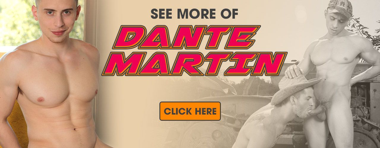 Check out versatile hung muscle fuck star Dante Martin!