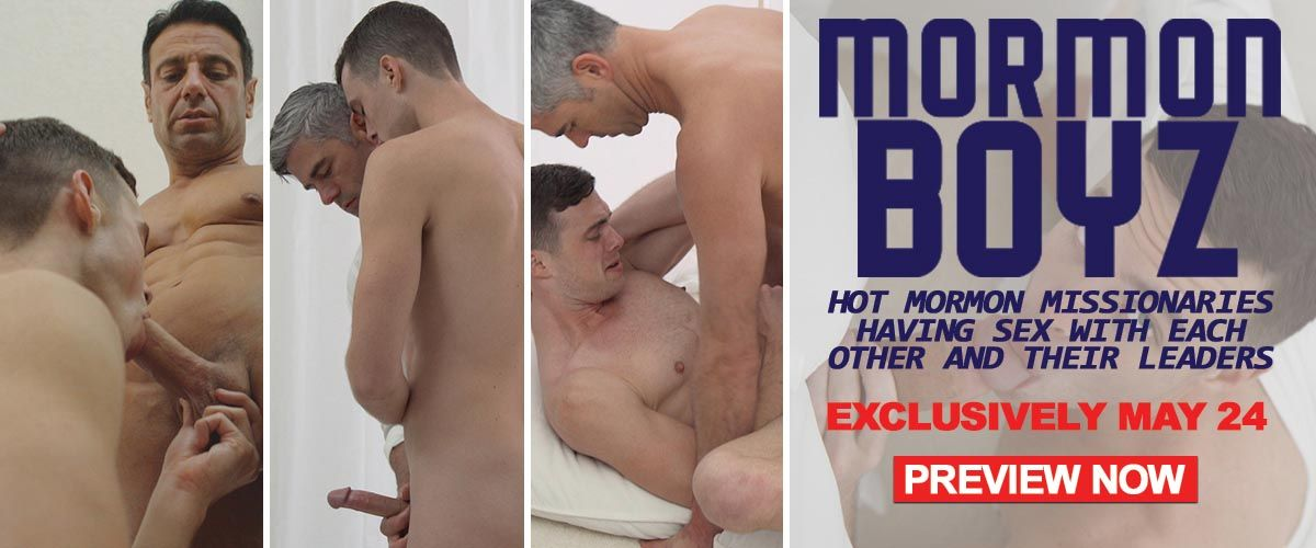 Don't miss Hot Mormon Missionaries coming to AEBN Exclusive May 24!!