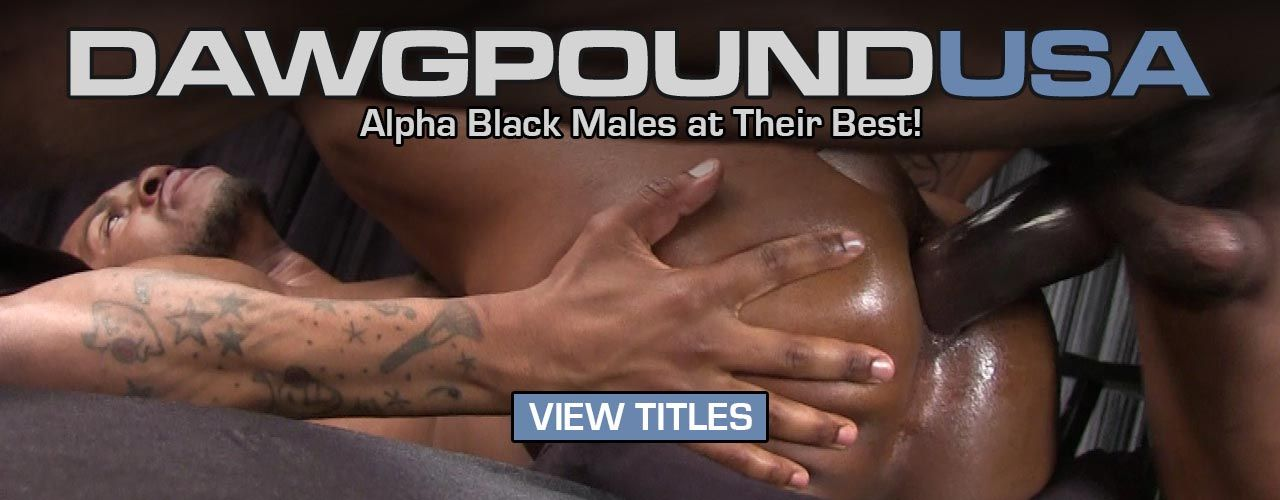 Dawgpound USA is back with another deep black cock pounding release, watch now!