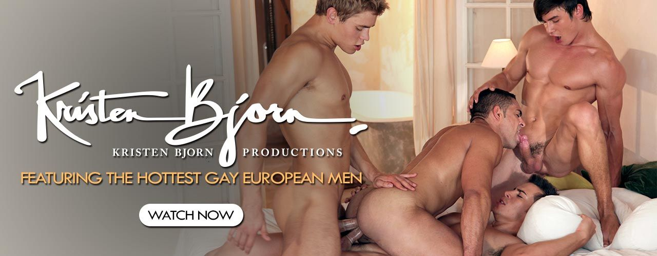 Kristen Bjorn featuring the hottest gay european men in action!