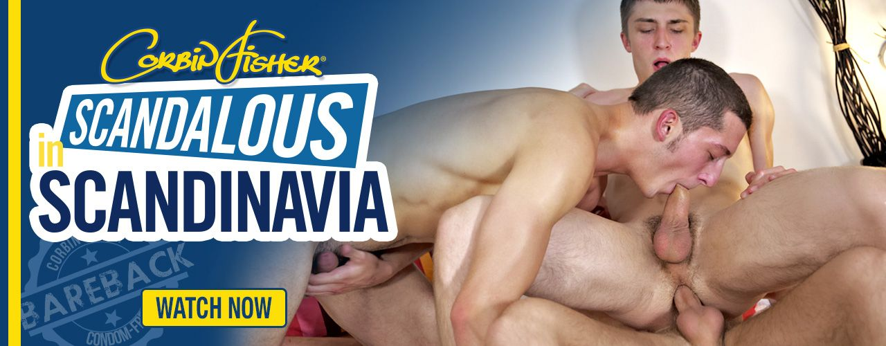 Corbin Fishers' boys are back but this time all bareback Scandinavian boys!
