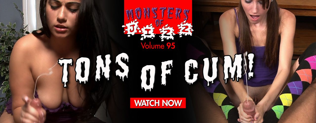 Monsters of Jizz 95 is all about massive facial, you won't want to miss the bucket loads of cum!