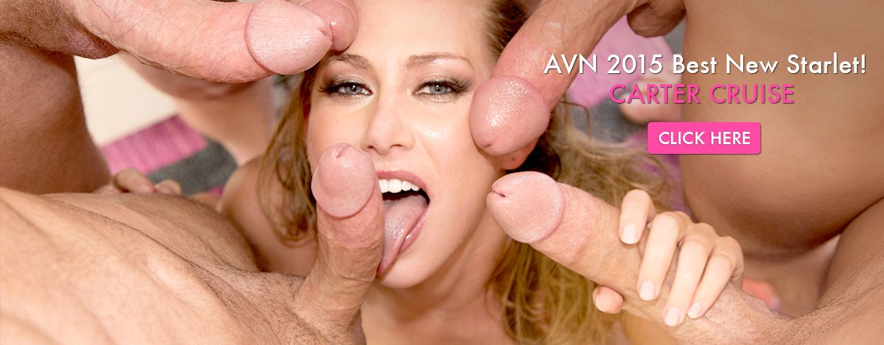 Watch movies from Carter Cruise. AVN 2015's Best New Starlet, Your Girlfriend's Favorite Pornstar, and the girl who brought back the bush.