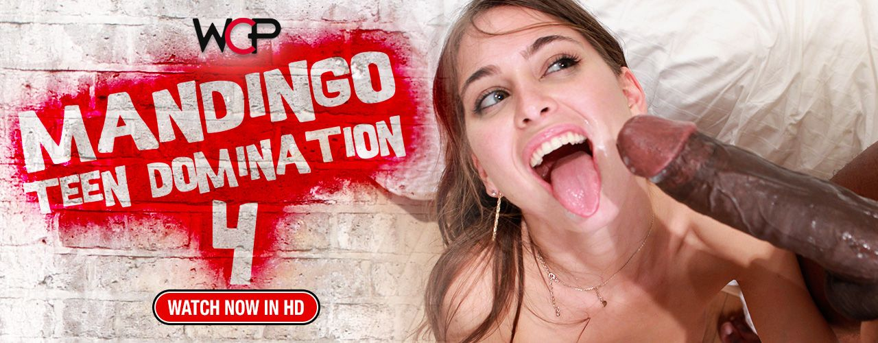 Mandingo is ready to destroy Riley Reid, Marley Blaze, Edyn Blair & Sheena Rose's tiny white teen fuckholes in this interracial West Coast Fuck Flick