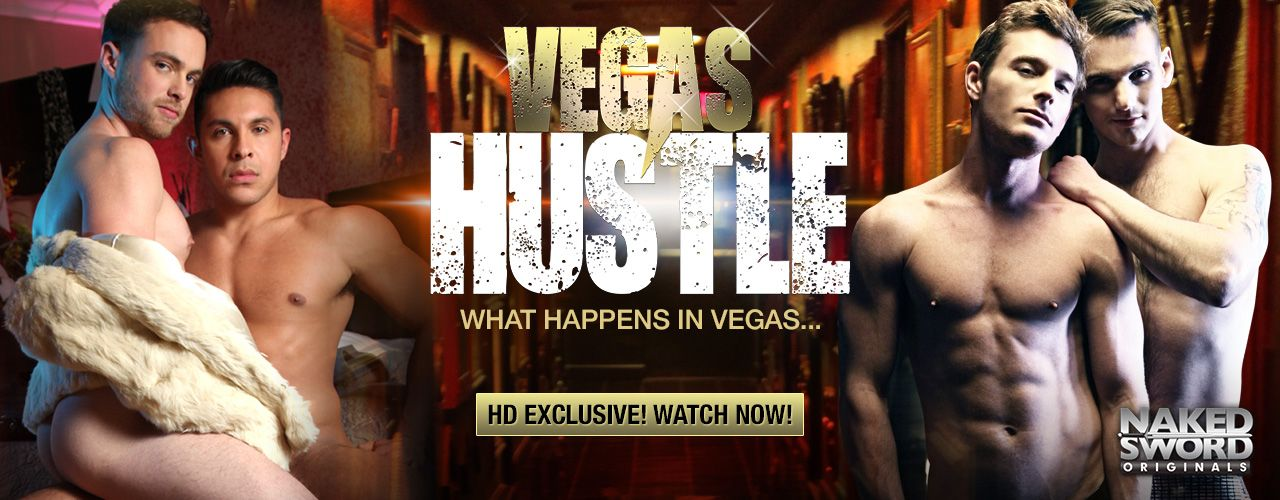 What happens in Vegas, happens at Hustle Ball with Brent Corrigan, Chris Harder in this block buster of the year from Naked Sword!